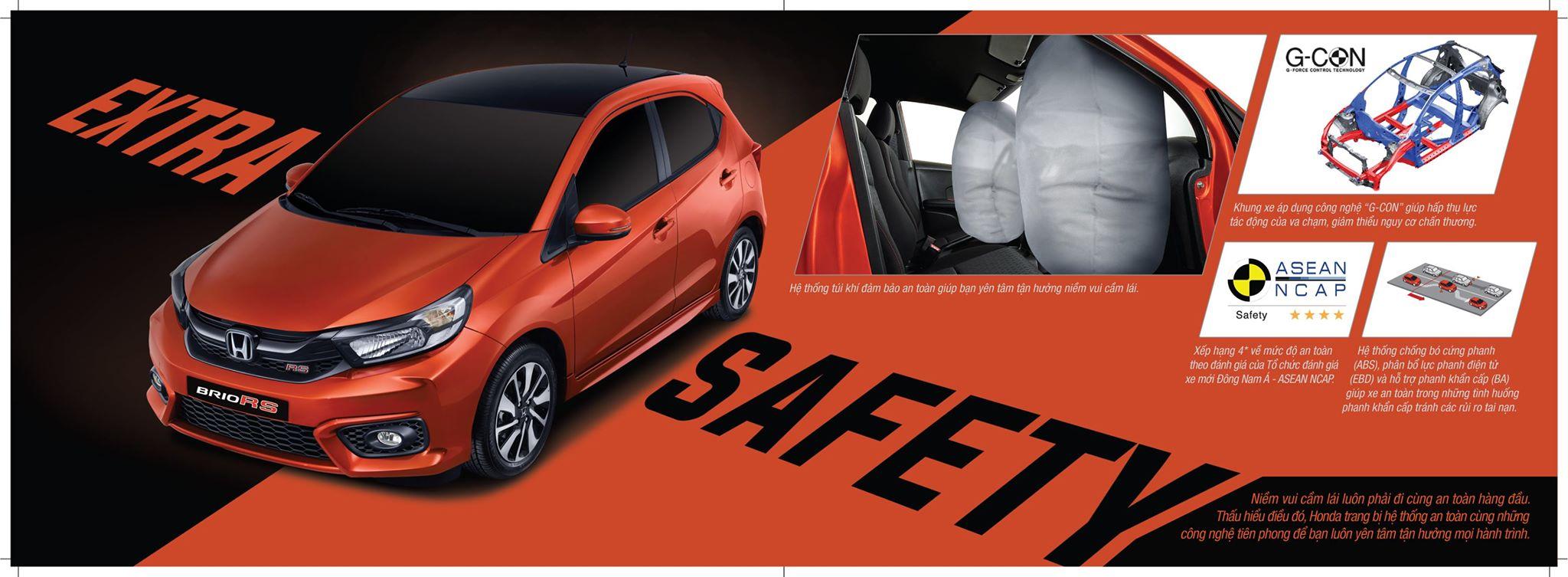 Tính năng an toàn Honda Brio 2021 - Honda Ô tô Nha Trang - Honda Ô tô Khánh Hòa - 0905 069 259