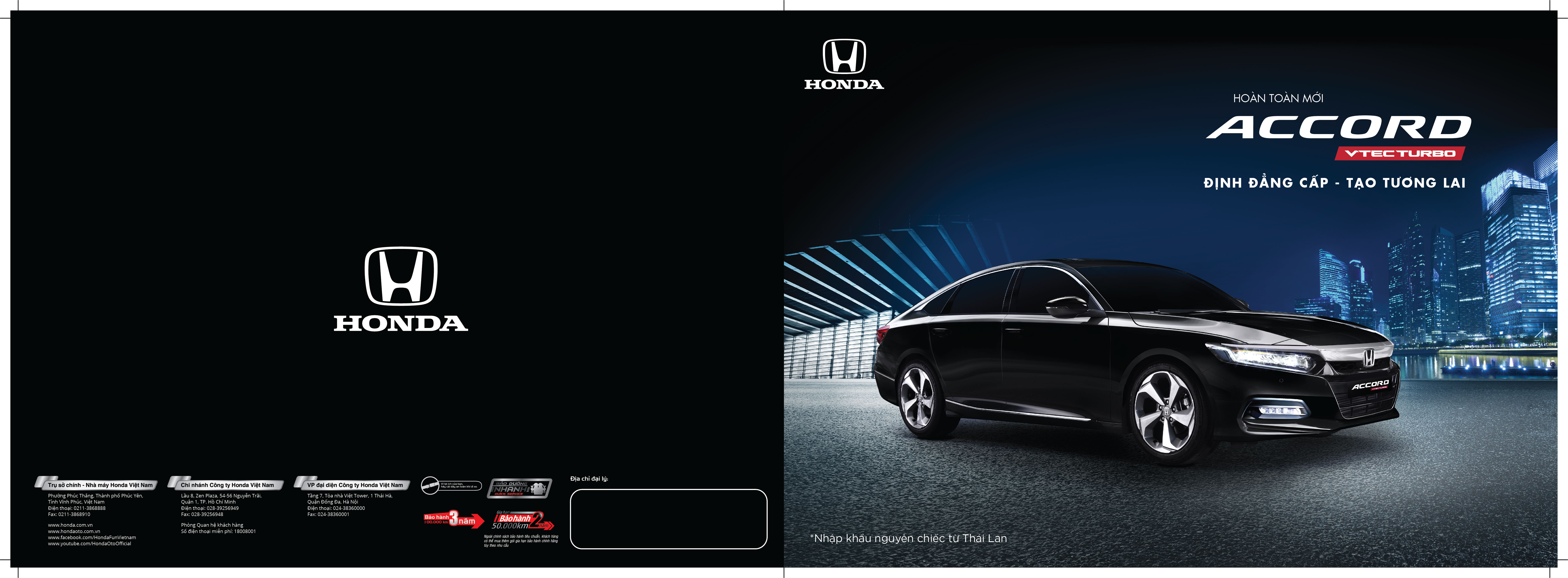 Honda Accord - Honda Nha Trang - Honda Ô tô Khánh Hòa - 0905 829 379